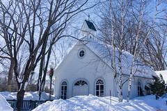 Chapelle - Domaine de Maizerets, Québec, Canada - 9955 (rivai56) Tags: chapelle domainedemaizerets québec canada 9955 hiver quebeccity en chapel winter