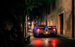 Night Drive. (Alex Penfold) Tags: pagani zonda c12 blue c12s roadster supercars super car cars autos alex penfold switzerland