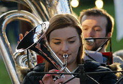 Christmas Music at Beamish (PJ Swan) Tags: beamish museum country durham great britain england historical brass band music instruments christmas