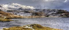 Loch Assynt, Calda House, Highland, Sutherland, Scotland, UK (Janusz W.) Tags: scotland scozia sky schottland scotia szkocja lochassynt assynt loch pentax pentaxk3 caldahouse house landscape mountain winter snow