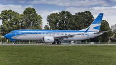 Boeing 737-8 MAX / Aerolineas Argentinas / LV-HKU (Vicente Quezada Duran) Tags: boeing 7378 max aerolineas argentinas lvhku
