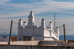 Rooftop View (suzanne~) Tags: vejerdelafrontera spain andalusia rood architecture clothesline sky