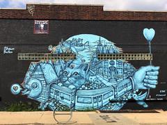 Which Reality by Shawn Bullen (wiredforlego) Tags: graffiti mural streetart urbanart aerosolart publicart brooklyn williamsburg newyork nyc ny shawnbullen