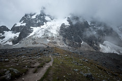 The Peak (Aymeric Gouin) Tags: pérou peru salkantay trek hike hiking randonnée mountain montagne altitude snow neige mood clouds nuages dark sombre summit peak landscape paysage paisaje landschaft nature outdoors fujifilm xt2 aymgo aymericgouin