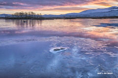 Frozen Ba (macdad1948) Tags: lochba sunrise winter frost dawn reflections rannockmoor trees scotland glencoe frozen glenorchy highlands lochachlaise ice