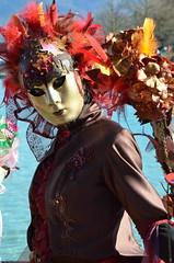 Sonate d'automne (RarOiseau) Tags: hautesavoie annecy carnaval masque portrait pourpre fête événement