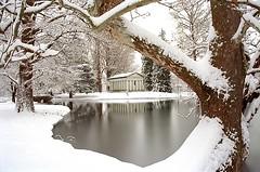 """Cincinnati - Spring Grove Cemetery & Arboretum """"Flieschman Mausoleum Inside Winter"""" (David Paul Ohmer) Tags: spring grove cemetery arboretum cincinnati ohio springgrove cemetary winter snow flieschman mausoleum"""