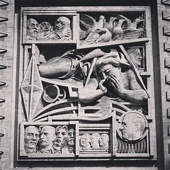 1930s Era Bas Relief, Piazza Affari, Milano, Italia From our September 2018 trip to see family and attend the SRN Conference. #milan #milano #italy #italia #travel #history #architecture #building #structure #piazza #publicspace #art #sculpture (dewelch) Tags: ifttt instagram 1930s era bas relief piazza affari milano italia from our september 2018 trip see family attend srn conference milan italy travel history architecture building structure publicspace art sculpture