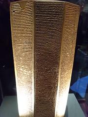 UK - London - Bloomsbury - British Museum - Clay prism from Ninevah - Ashburnipal's chronicles (JulesFoto) Tags: uk england london britishmuseum assyria