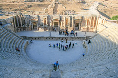 Jerash (Ralph Apeldoorn) Tags: amphitheatre roman ruin jerash jordanië jo