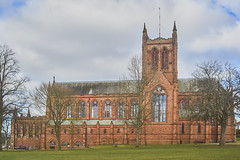 Crichton Memorial church, Dumfries, Crichton Campus, March 2016 (imagesbyhmck) Tags: church crichtonmemorialchurchdumfries christian churchofscotland protestant slate slateroof sandstoneconstruction sandstonewalls crichtoncampus flickr descriptions dumfries dumfriesarea dumfriesandgalloway dumfriesshire scotland unitedkingdom