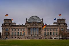 Reichstagsgebäude, Berlin (Jutta Achrainer) Tags: achrainerjutta berlin fe24105mmf4goss sonyalpha7riii reichstagsgebäude reichstag architektur