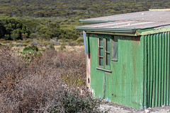 quarters (julie burgher) Tags: corrugatediron dwelling inneston innesnationalpark yorkepeninsula southaustralia