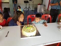 Church birthday celebrations for March 6 (SierraSunrise) Tags: birthdays cake celebrations christian church esarn isaan nongkhai phonphisai thailand