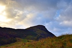 Arthur's Seat (Pictures in my head) Tags: scotland edinburgh city town discover enjoy free time holiday explore nature lover arthur seat history student travel mountain blue sky clouds colours autumn photography landscape view beauty walk weather friends fall