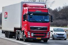 AG88423 (13.04.17)_Balancer (Lav Ulv) Tags: 129520 frodelaursen flemminghegelundlarsen flemminghlarsen aars volvo volvofh fh3 fh500 e5 euro5 6x2 2010 afmeldt2017 retiredin2017 abgemeldet2017 red driverallan truck truckphoto truckspotter traffic trafik verkehr cabover street road strasse vej commercialvehicles erhvervskøretøjer danmark denmark dänemark danishhauliers danskefirmaer danskevognmænd vehicle køretøj aarhus lkw lastbil lastvogn camion vehicule coe danemark danimarca lorry autocarra danoise vrachtwagen motorway autobahn motorvej vibyj highway hiway autostrada trækker hauler zugmaschine tractorunit tractor artic articulated semi sattelzug auflieger trailer sattelschlepper vogntog oplegger sættevogn