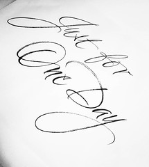 #calligraphy #chiarariva #heroes #davidbowie