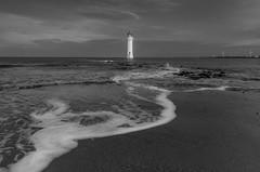New_Brighton_light_House (magraylaptop) Tags: sea toplensphotography lighthouse newbrighton sunrise thecoast