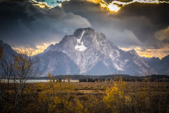 Mount Moran (Brad Prudhon) Tags: 2018 grandtetonnationalpark jacksonhole september wyoming sunset