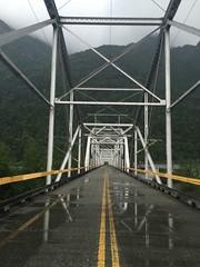 Until you cross the bridge of your insecurities, you can't begin to explore you possibilities. [Tim Fargo] (victoriahewitt15) Tags: rain nature bridge alaska