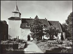 Postkort fra Agder (Avtrykket) Tags: grav gravsten kirke kirkegård middelalderkirke postkort grimstad austagder norway nor