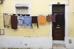 Just a Saturday morning photowalk #lisbon #street #t3mujinpack (t3mujin) Tags: door clothesline building madragoa object street urban architecture lisboa window city lisbon portugal europe estremadura santos