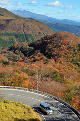 Nikkō (日光市) Town | Tochigi, Japan (Ping Timeout) Tags: nikkō 日光市 town city tochigi prefecture japan nikko north west season visit travel autumn fall outdoor 栃木県 unesco world heritage site nippon holiday 東京 日本 october 2018 vacation explore drive road winding windy route scene scenic scenery lookout mountain hill bend corner tight green forest colour color orange yellow red cloud sky skies light shadow いろは坂 irohazaka hairpin turn 48