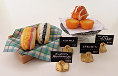 Bakery Petit # 6 (MurderWithMirrors) Tags: rement miniature food bakery mwm sandwich box sign cakeplate eggtarts pastry