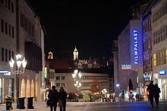 Nuremberg (Jurek.P) Tags: norymberga nuremberg bavaria germany europe nightcity nightshot streetscene street lights jurekp sonya77