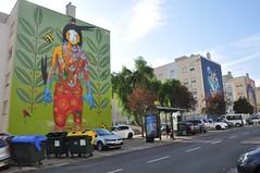 Lisboa - street art (Marvila) (jaime.silva) Tags: lisboa lisbon lisbonne lissabon lisszabon lisabona lisbona lisabon lissaboni lissabonin lisabonos lisabonas lizbon lizbona lizbonska portugal portugalia portugalsko portugália portugalija portugali portugale portugalsk portogallo portugalska portúgal portugāle painting paint spraypaint spraypainting muralpainting publicart art arte arts arteurbana urban urbanart streetart streetartist steep
