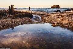 Verso il mare (SDB79) Tags: abruzzo vasto mare punta aderci paesaggio tramonto riflessi