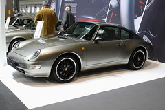 Porsche 911 (993) (JoRoSm) Tags: lancaster insurance classic motor show nec birmingham car cars automobile auto nationalexhibitioncentre carshow 2018 sports performance classics yesteryear polished rides wheels canon 500d tamron porsche porker german supercar old 911 993 rearengined aircooled grey limited oneoff rare restored eos transport national exhibition centre indoor