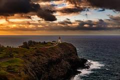 Kilauea Lighthouse (Tim Lumley) Tags: hi hawaii kauai usa unitedstates water cloud goldenhour landscape landscapephotography lighthouse nationalwildliferefuge naturephotography naturescape ocean rugged scenic waterscape wave kilaueanationalwildlifereserv hawaiikauai