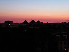 Hump-back skyline (seikinsou) Tags: brussels belgium bruxelles belgique summer dusk golden pink sky midsummer skyline
