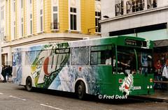 Bus Eireann KC163 (89D17144). (Fred Dean Jnr) Tags: buseireann gac kc163 uzg163 89d17144 stpatricksstreetcork october1998 alloverad 7up wrap
