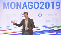Pablo Casado en la presentación de los candidatos por Extremadura (Partido Popular) Tags: pp partidopopular pablocasado casado candidato presentación extremadura