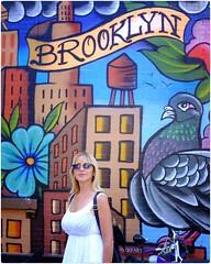 Brooklyn (Steve Lundqvist) Tags: york usa states united america manhattan stati uniti travel trip viaggio urban city urbanscape ny nyc downtown building view point big apple murales painting graffiti fujifilm x100s little italy edificio brooklyn wall