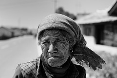 Stories with no words~ Lijiang (~mimo~) Tags: wrinkles old people minority ethnic asia photography street lijiang china yunnan