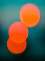 Traffic Lights - Intentional Blur (v2) (Poul-Werner) Tags: 800z aarhus danmark denmark aften blur evening light lys night centraldenmarkregion