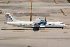 C6-BFR ATR72-600 KFLL 11-04-18 (MarkP51) Tags: c6bfr alenia atr72600 bahamasair up bhs fortlauderdale hollywood international airport fll kfll florida usa airliner aircraft airplane plane image markp51 nikon d7100 sunshine sunny