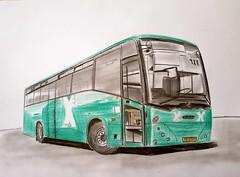 Scania Merkavim / Egged bus (paul7310) Tags: egged scania mercavim