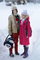 Зима (Olinka *) Tags: iplehouse audrey kanadoll adrian bjd dollphoto