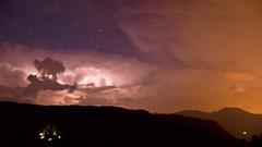 Gewitter auf dem Ritten (Sanseira) Tags: italien italy südtirol oberbozen ritten gewitter blitze wolken nacht laner hof