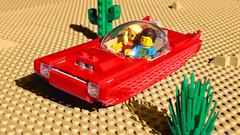 Lego Retrofuture Hover Car (hachiroku24) Tags: lego retrofuture moc hover car instructions