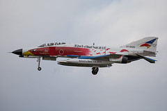 07-8428 F-4 Phantom 302 Hikotai JASDF (JaffaPix +5 million views-thanks...) Tags: qgu rjng gifu gifuairbase military aeroplane aircraft aviation airplane flying flight inflight davejefferys jaffapix jaffapixcom plane planespotting japanairselfdefenseforce jasdf 078428 f4 phantom 302hikotai specialcolours specialscheme
