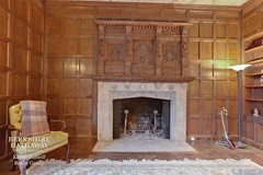 Chicago area mansion built 1925 $3.1 8 bed (techpro12) Tags: manor mansion old historic room interior home office library vintage fireplace mantel