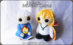 Howl's moving castle Amigurumis (LaCalabazadeJack) Tags: howl moving castle sophie calcifer studio ghibli fan art film movie manga anime cartoon chibi cute kawaii geek otaku amigurumi crochet ganchillo couple love pattern patrón felt yarn plush toy doll handmade handcraft craft tutorial la calabaza de jack cristell justicia artesanía tienda online venta comprar shop