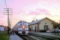CB&Q E9 9993 (Chuck Zeiler52) Tags: cbq e9 9993 burlington railroad emd locomotive galva train chuckzeiler chz chrisburritt