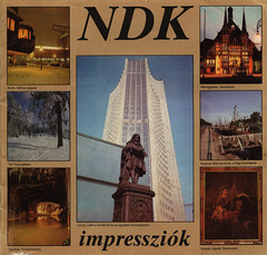 NDK (GDR / DDR)  impressziók; 1980_1, Germany, travel brochure (hungarian lang.) (World Travel library - The Collection) Tags: ndk ddr gdr 1980 travelbrochurefrontcover frontcover germany deutschland brochure world travel library center worldtravellib collection holidays tourism trip vacation brochures papers prospekt catalogue katalog photos photo photography picture image collectible collectors sammlung recueil collezione assortimento colección ads online gallery galeria touristik touristische broschyr esite catálogo folheto folleto брошюра broşür documents dokument