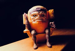 MODOK - AKA - Mental / Organism / Designed / Only (for) / Killing 4442A (Brechtbug) Tags: modok an acronym for mental mobile mechanized organism designed only killing is name different fictional super villains appearing american comic books published by marvel comics first appeared title tales suspense 93 – 94 september october 1967 became recurring foe superhero captain america where he was created jack kirby maybe stan lee action figure 2018 nyc
